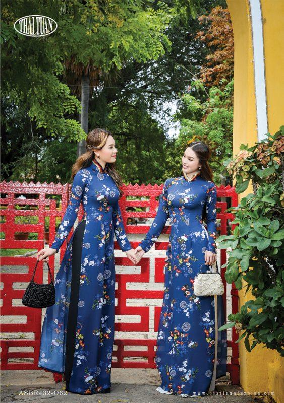 vải áo dài đẹp Thái Tuấn